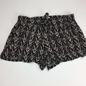 Full Tilt Shorts XS Stretch Pull On Boho Festival